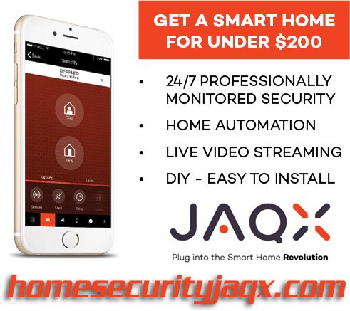 home automation, home security system jaqx